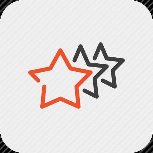 feedback, premium, quality, rating, review, stars, vote icon