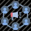 advertising, announce, dissemination, propaganda, publish icon