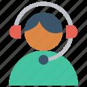 customer, customer service, customer support, hotline, representative, support, user icon