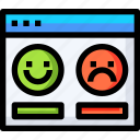 comment, favorite, feedback, message, rating, review, satisfaction icon