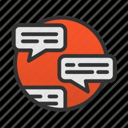 chat, customer, service, talk icon
