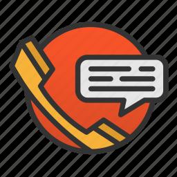 customer, phone, service icon