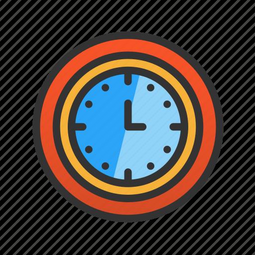 clock, customer, hour, service icon