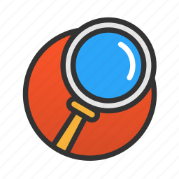 customer, magnifier, search, service icon
