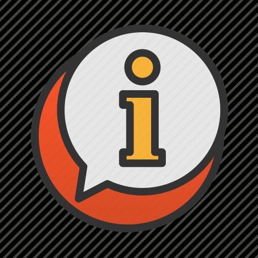 customer, info, service icon