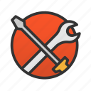 customer, service, tools icon