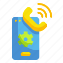 call, chat, conversation, message, telephone icon