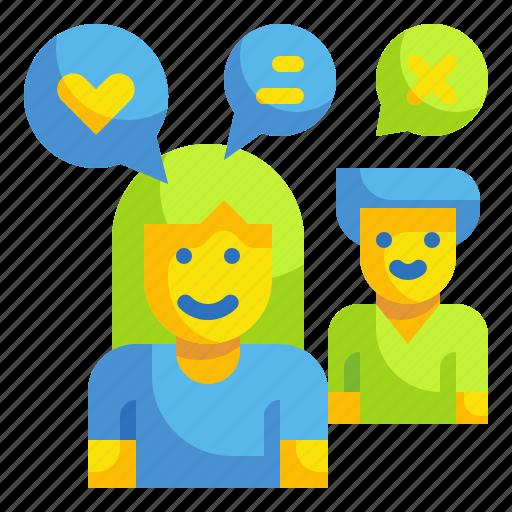 assessment, behavior, customer, feedback, review icon