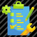 check, checklist, document, form, list icon