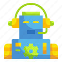 bot, electronics, robot, technology icon