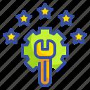 customer, degree, grade, rating, star