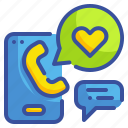 call, customer, phone, relationship, service icon