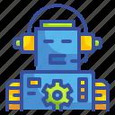 bot, electronics, robot, technology