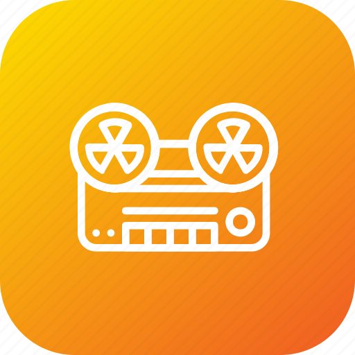 audion, device, frequency, radio, record, tape icon