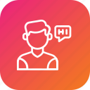 chat, communication, customer, message, support