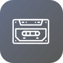 audio, cassette, message, music, prerecorded, record icon