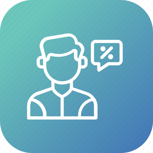 ask, care, customer, discount, help, offer, support icon
