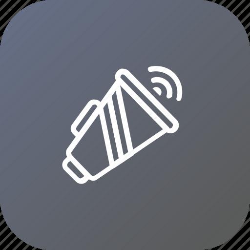 advertising, marketing, megaphone, promotion, speaker icon