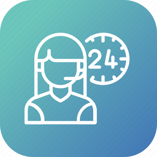 Customer, allday, help, service, support, man, care icon - Download