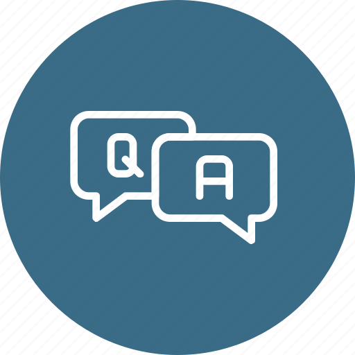answer, conversation, help, question, questionnaire, support icon