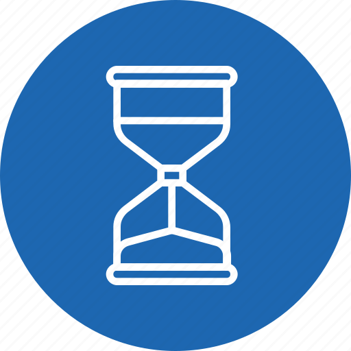 hourglass, management, sandglass, time, watch icon