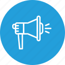 advertising, marketing, megaphone, promotion, speaker