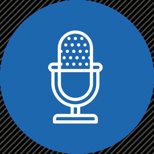 audio, mic, mike, record, voice icon