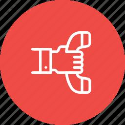 communication, help, phone, receiver, telephone icon