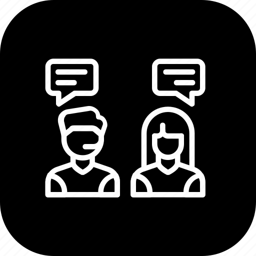 care, communication, conversation, customer, help, service, support icon