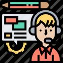 paraphrase, customer, comment, report, helpdesk