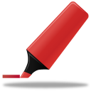 highlightmarker, red icon