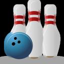 bowling, sport icon