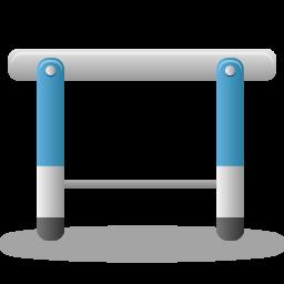 hurdle, sport icon