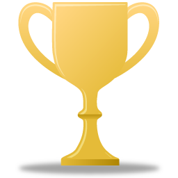 Gold Trophy Icon Download PNG