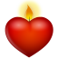 http://cdn1.iconfinder.com/data/icons/customicondesignvalentine/64/candle.png