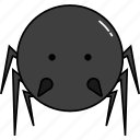 animal, cute, spider icon