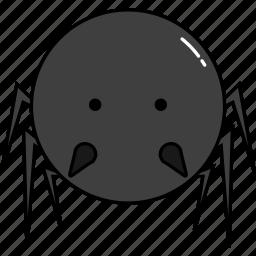 animal, cute, spider icon