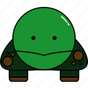 animal, cute, turtle icon