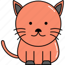 animal, cat, cute icon