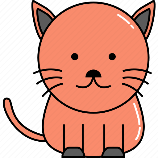animal, cat, cute icon