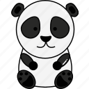 animal, cute, panda icon