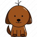 animal, cute, dog icon