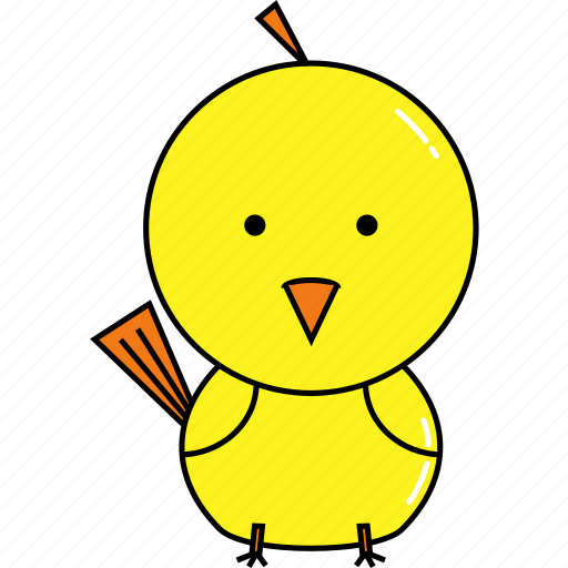 animal, chick, cute icon