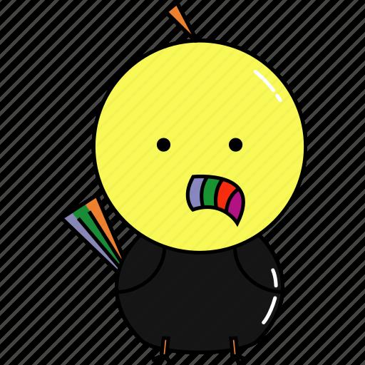 animal, cute, toucan icon