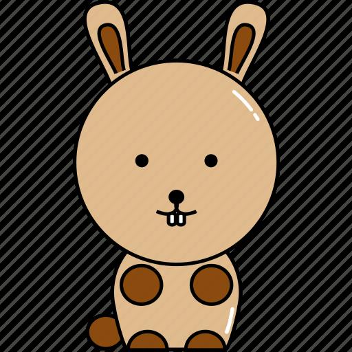 animal, cute, rabbit icon