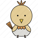 animal, chicken, cute icon