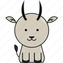 animal, cute, goat icon