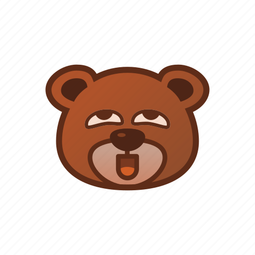 Bear, cute, emoticon, perfert icon - Download on Iconfinder