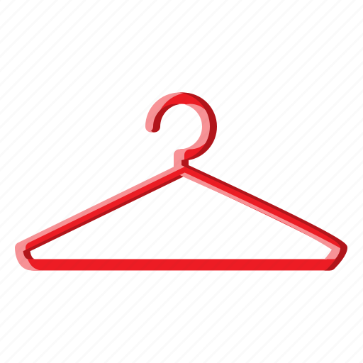 bedroom, clothes, clothing, filled, hanger, shirt icon