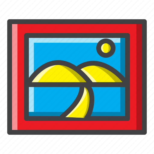 art, bedroom, color, creative, filled, paint, painting icon